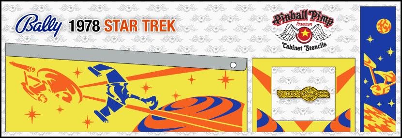 bally star trek pinball cabinet stencilspinball pimp stencils