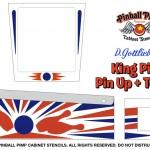 1973 - King Pin + Pin Up + Ten Up